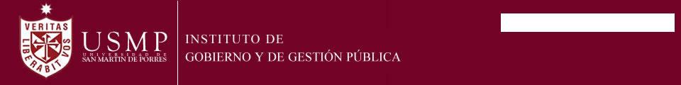 Instituto de Gobierno y de Gestión Pública