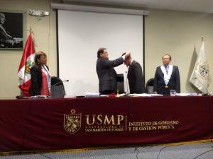 SUSTENTACIÓN DE TRABAJO DE INVESTIGACIÓN, GRADO MAESTRO EN GESTIÓN PÚBLICA ALUMNOS: FREDY SEMINARIO AREVALO, SAMUEL SAMAME VIDAURRE  05/12/2018